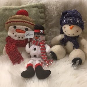 Other - 3pc Vintage Snowmen!